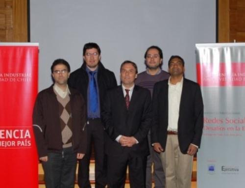 Seminario Internacional Redes Sociales en Universidad de Chile