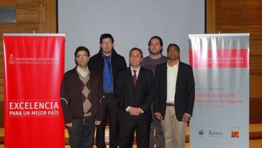 seminario Redes Sociales en Universidad de Chile - Martin Meister