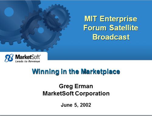 MarketSoft Corporation: Winning the Marketplace