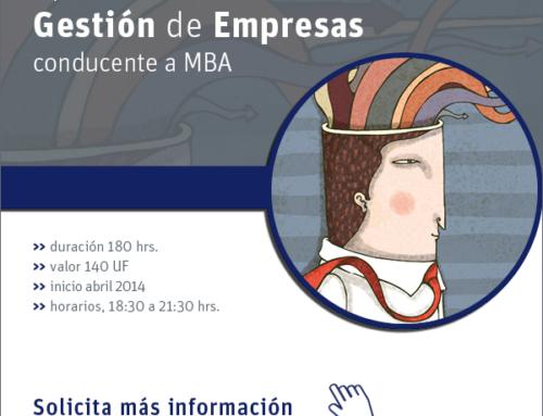Diplomado Gestion de Empresas – Universidad de Chile 2014