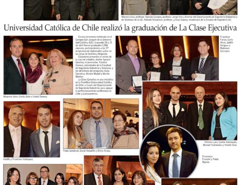 Universidad Católica de Chile realizó la graduación de La Clase Ejecutiva UC
