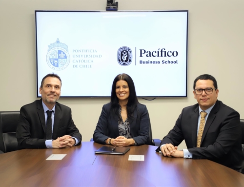 Firma convenio Universidad del Pacifico de Perú